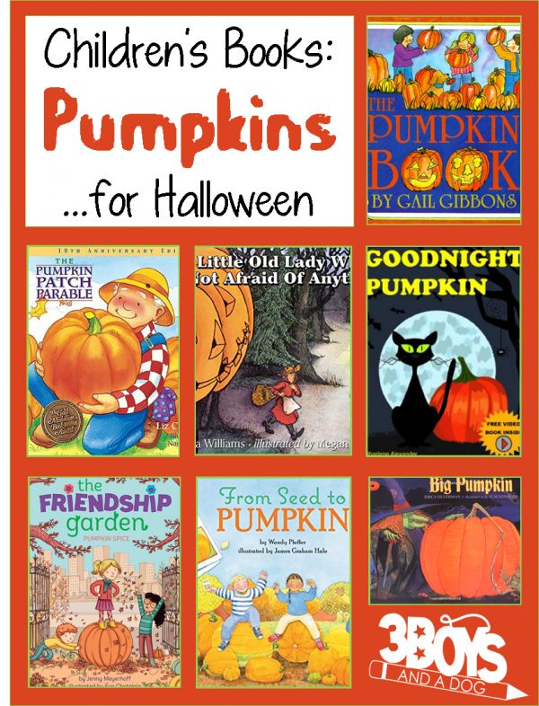 Nice Childrens Books About Pumpkins