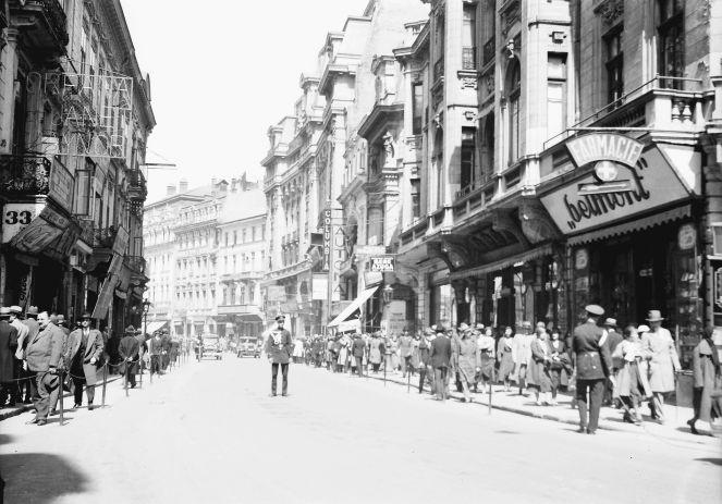 Bukarest, Straßen- und Marktleben in Bukarest: Calea Victoriei