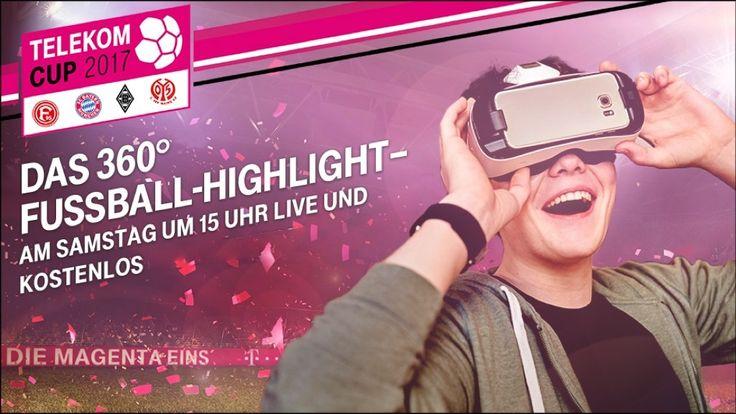 Neue Nachricht: Telekom-Cup 2017: Fußball-Turnier im Livestream und in 360 Grad - http://ift.tt/2ikvcME #nachrichten