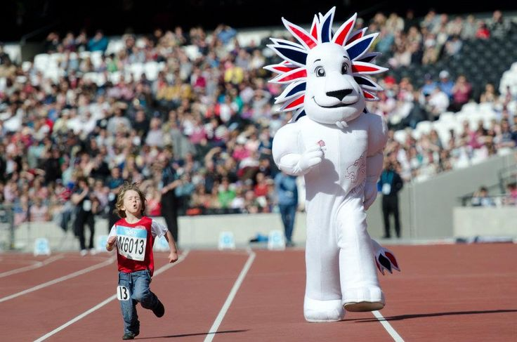 Pride the Lion - Team GB #olympics #teamgb #lion #mascot #costume