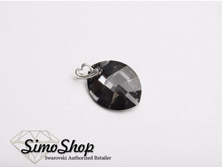 Pandantiv swarovski cu bază din argint 925! #simoshop #bijuterii #accesorii #argint #swarovskicrystals #swarovski #newcolection