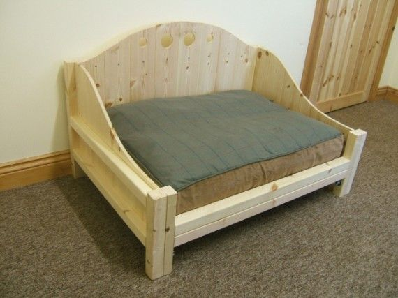 Wooden Dog Beds | ... Sectional Buildings - Medium Raised Dog Bed Frame - MEDIUM-DOG-FRAME