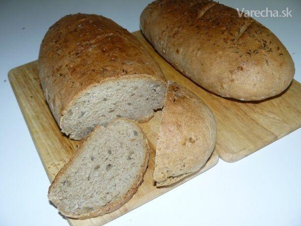 Pšenično-ražno grahamový chlieb
