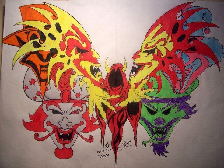 juggalo tattoo art | Juggalo Butterfly by DarkRein82