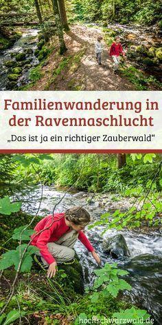 Wandern mit Kindern: In der Ravennaschlucht im Schwarzwald braucht man keine Motivationstricks. Dort ist es auch so spannend genug. Ein richtiger Spielplatz für die Kinder.