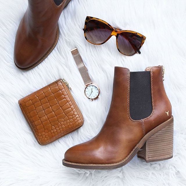 Windsor Smith Mary Boots Tan | Beginning Boutique