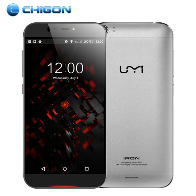 Original UMI IRON 4G FDD-LTE 5.5 FHD Android 5.1 Smart Mobile Phone 64Bit MTK6753 Octa Core 1.3 GHz 3GB RAM 16GB ROM OTG 13.0MP US $169.99 /piece To Buy Or See Another Product Click On This Link  http://goo.gl/EuGwiH