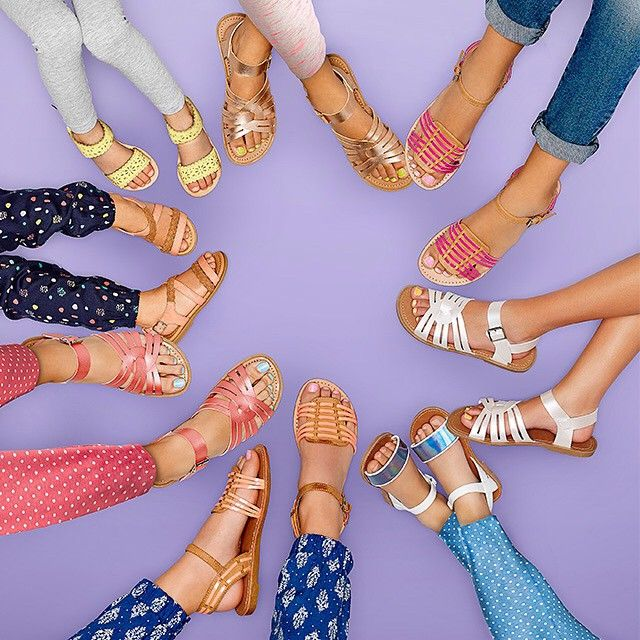 Yay for kids sandals from $25 everyday!