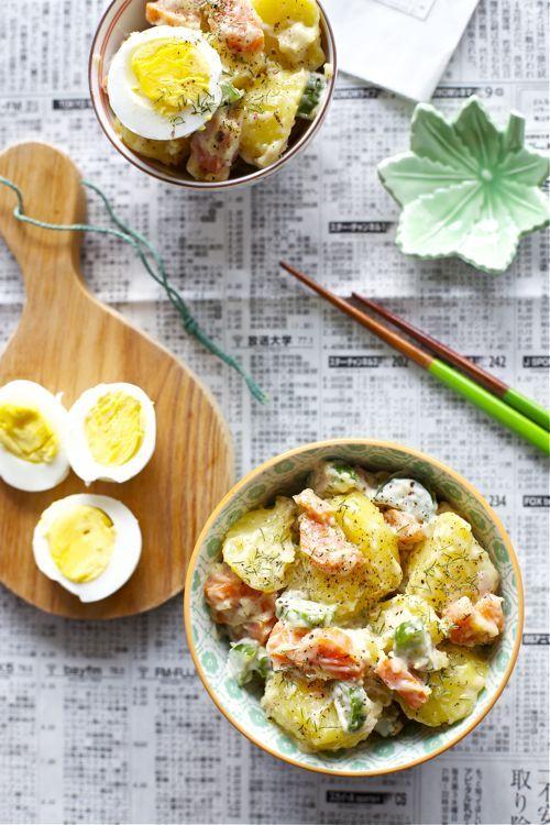 HAPPY LIVING - Зимние салаты и домашний майонез Японский картофельный салат