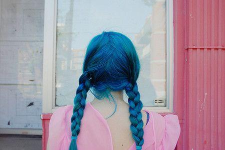 blue hair | Sumally