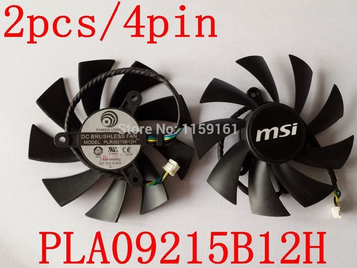 Free Shipping 2pcs/lot PLA09215B12H 12V 0.55A 87mm For MSI N560 570 580GTX HD6870 Graphics Card Cooling Fan 4Wire 4Pin     Tag a friend who would love this!     FREE Shipping Worldwide     Get it here ---> https://shoppingafter.com/products/free-shipping-2pcslot-pla09215b12h-12v-0-55a-87mm-for-msi-n560-570-580gtx-hd6870-graphics-card-cooling-fan-4wire-4pin/