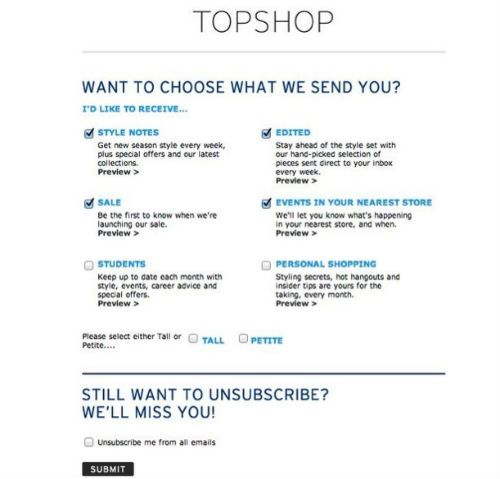 21 best Email Preference Center images on Pinterest Centre - confirmation email template