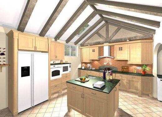 7 best Dessins 3D Home images on Pinterest Croquis, Kitchen - alno küchen trier