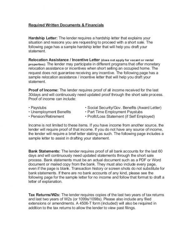 Short Sale Hardship Letter Reasons from i.pinimg.com