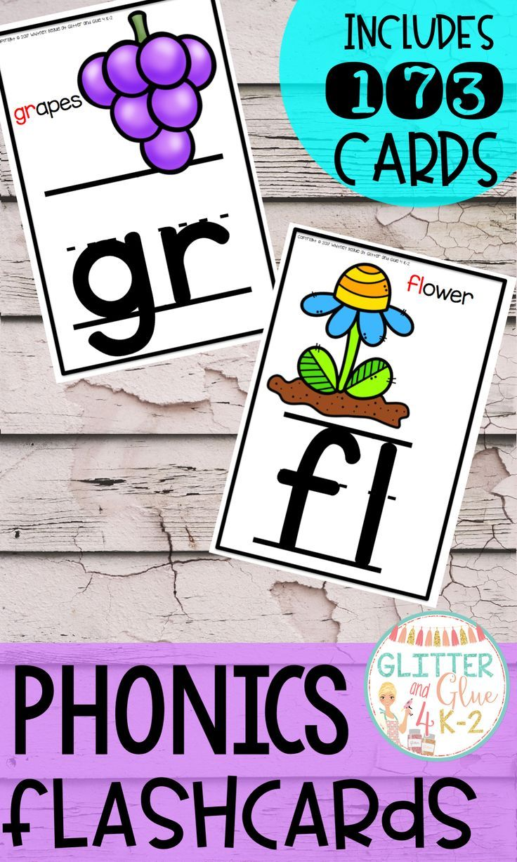 Phonics Flashcards Phonics flashcards, Phonics cards