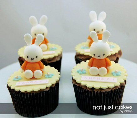 Miffy Cake and Cuppies for Aubrey