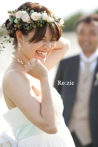 2014.2.4 花嫁さま髪型別花冠スタイル集その③ アップヘア&編みこみなど : Ro:zic die floristin