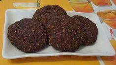 Шоколадное овсяное печенье без сахара