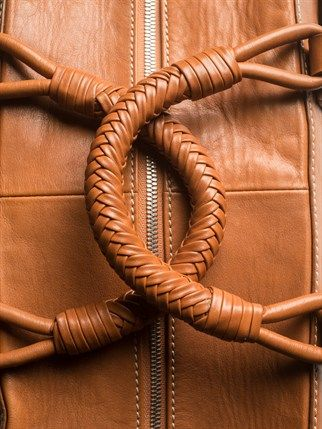 Saddle Leather 24-Hour Bag. Nice thick handles would be comfy.