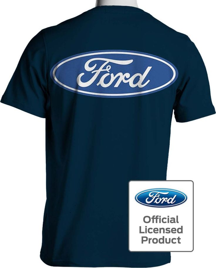 Ford Blue Oval T Shirt Ford Motor Company Mens 7X to 8X Big and Tall - Free Ship #PitStopShirtShop #GraphicTee
