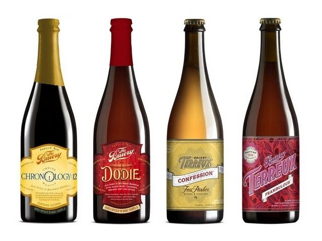 Dodie, Chronology: 12, Confession and Frambulous from The Bruery now available in The Rare Beer Club (sponsor)