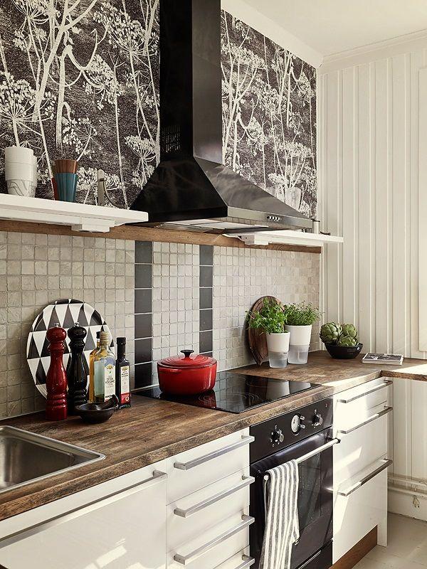 кухня: плитка, столешница