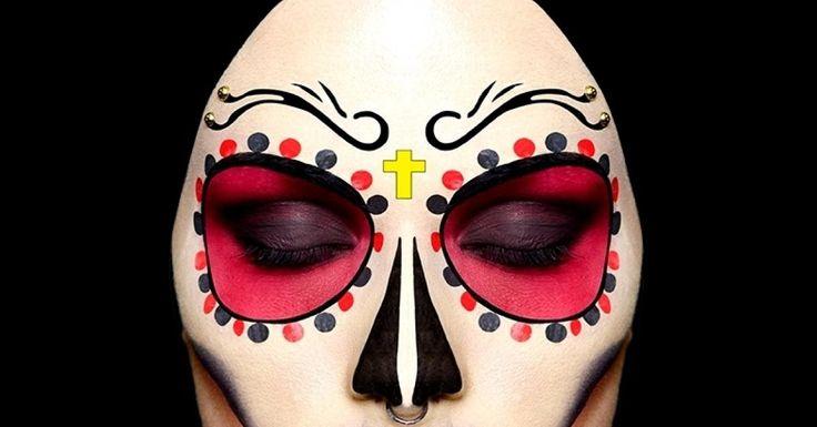 Pour célébrer Halloween 2012, la marque Make Up For Ever nous propose une séance de maquillage sur-mesure. Direction le Marais à Paris, pour dans la boutique Meke Up For Ever