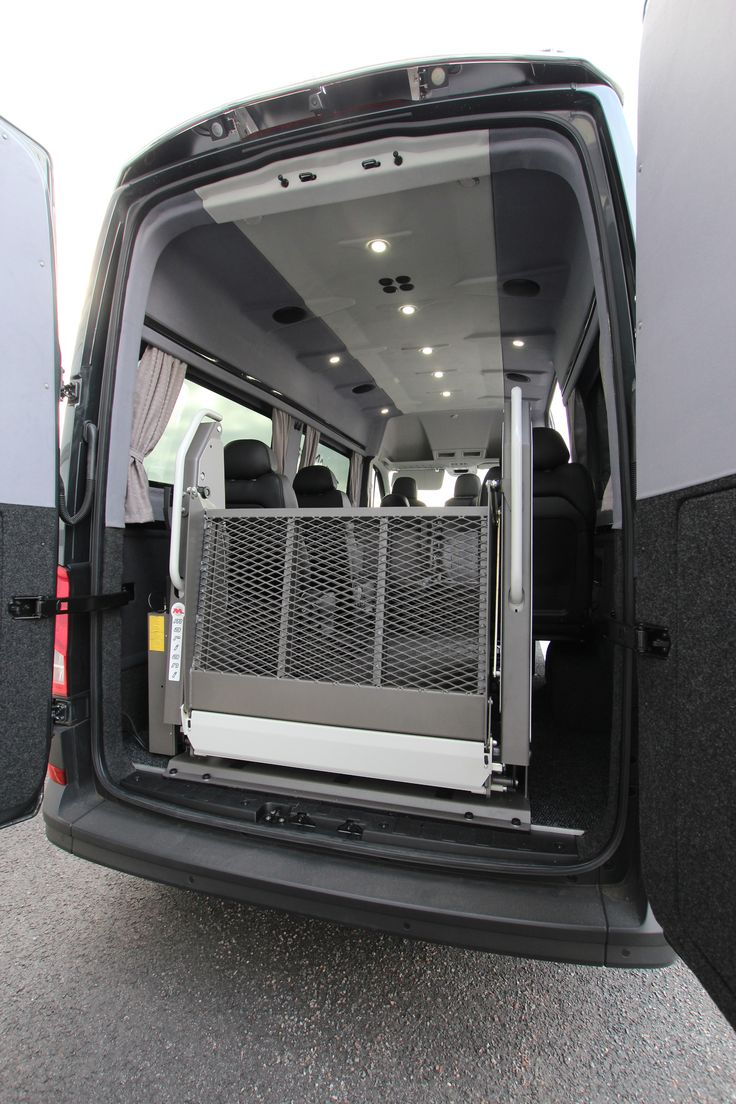 New Volkswagen Crafter Tamlans Disabled Taxi, Mariani BBO 140.90 Wheelchair Lift