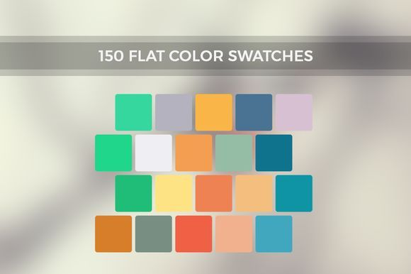 Great Inspire Me - 150 Flat Color Swatches