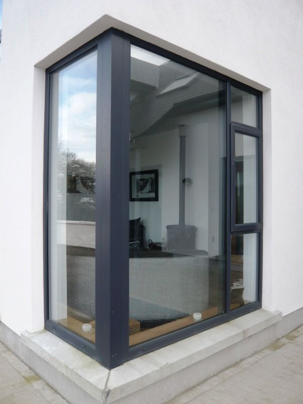anthracite grey upvc windows smooth finish - Google Search                                                                                                                                                                                 More