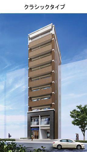 狭小地、変形地の高層RC造ならフランディルDC-マンション建設の生和