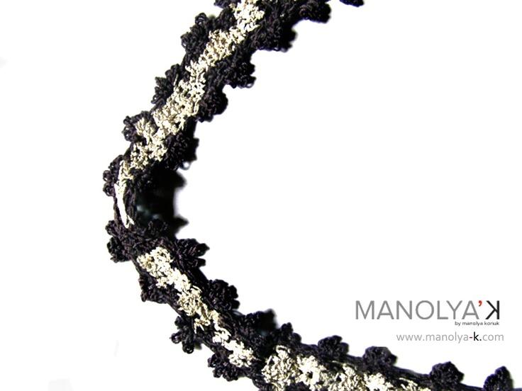 Camelot'e, Lace Chaine (detail)              Thread & Silver