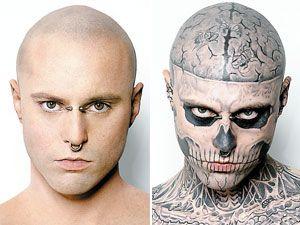 Mon Transit Zombie Boy Sans Ses Tatouages Rick Pinterest Rick