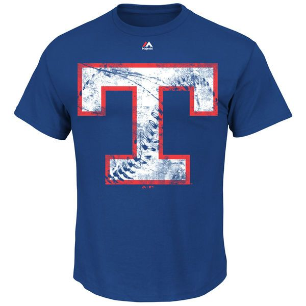Texas Rangers Majestic Cooperstown Collection Rooted in Nostalgia T-Shirt - Royal - $19.99