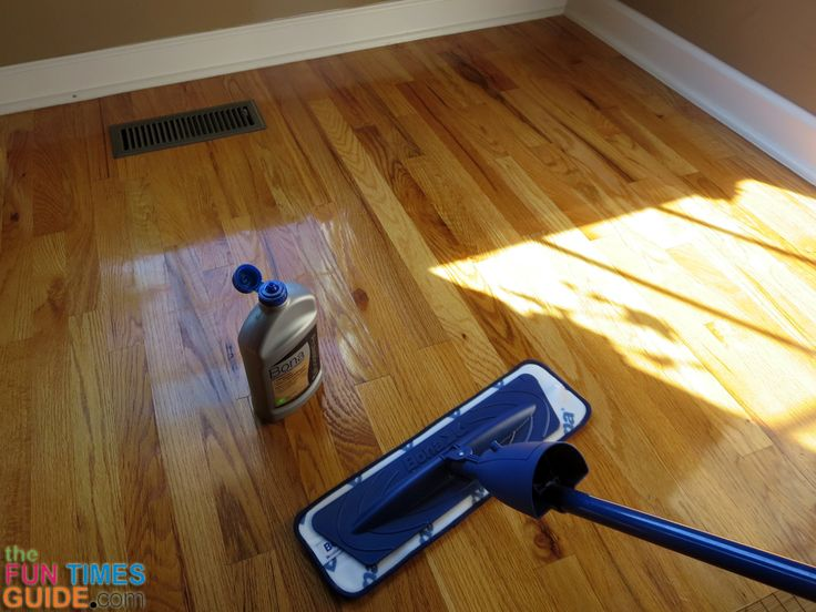 Elegant Using Bona Refresher As A Floor Polish Instead Of Using Floor Wax: How To  Make Hardwood Floors Shine Without Damaging Them!