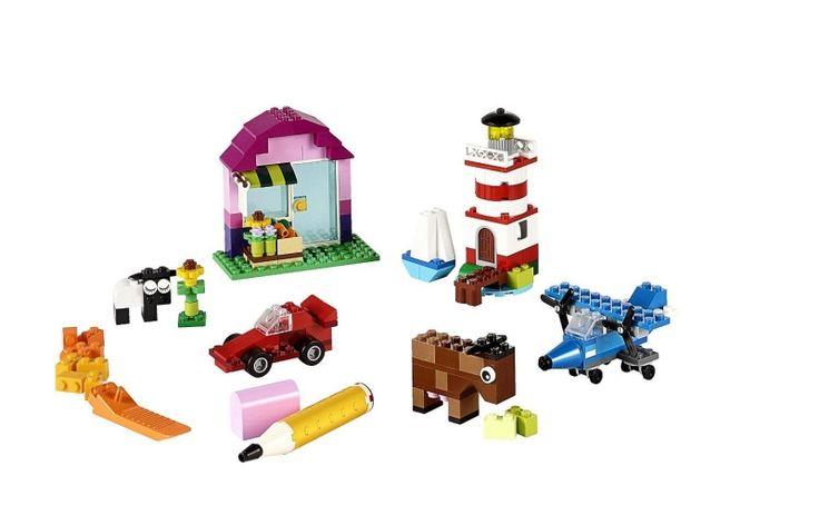 LEGO Classic Kreatywne klocki - Klocki LEGO - Satysfakcja.pl