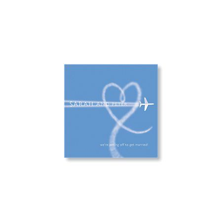 Fly Away Save the Date Card