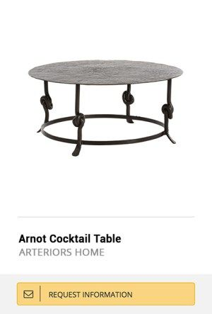 Treniq Trends  Statement Coffee Tables of The Week!