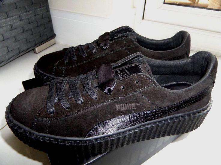PUMA RIHANNA SUEDE CREEPERS SATIN FENTY Trainers Shoes 36226801 UK7.5 GENUINE  #PUMA #Trainers