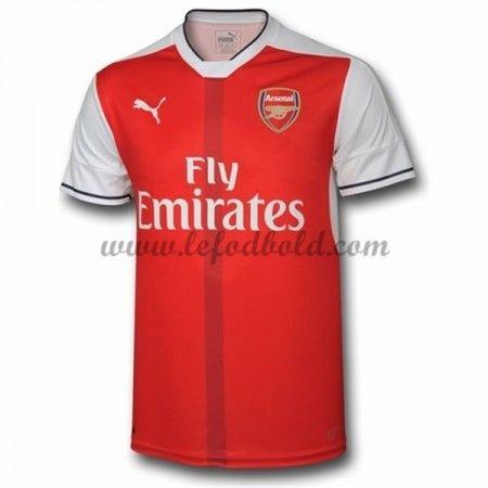 Billige Fodboldtrøjer Arsenal 2016-17 Kortærmet Hjemmebanetrøje