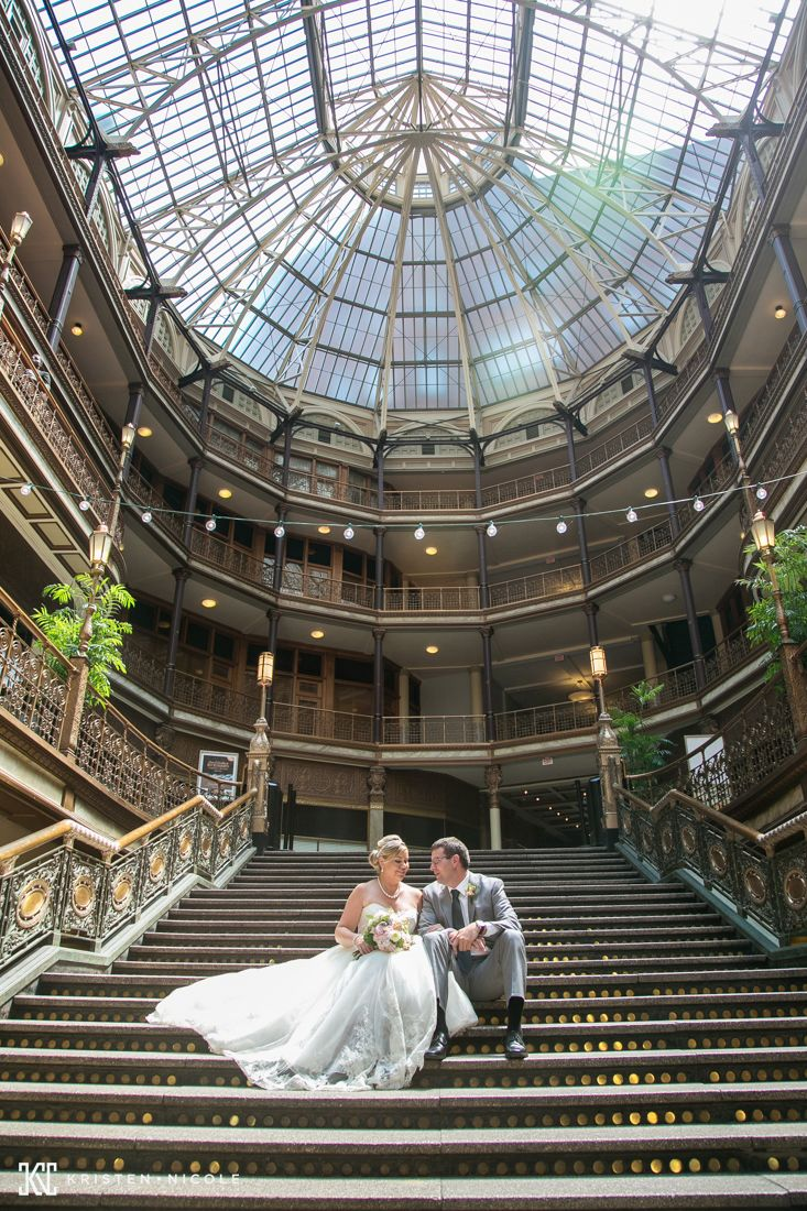 The Arcade Cleveland Ohio // ThornCreek Winery Wedding in Aurora Ohio /// Shana and Jimmy