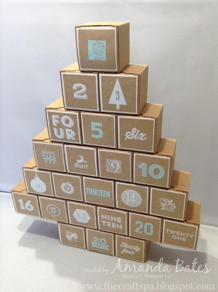 The Craft Spa - Stampin' Up! UK independent demonstrator : 2015 Advent Calendar
