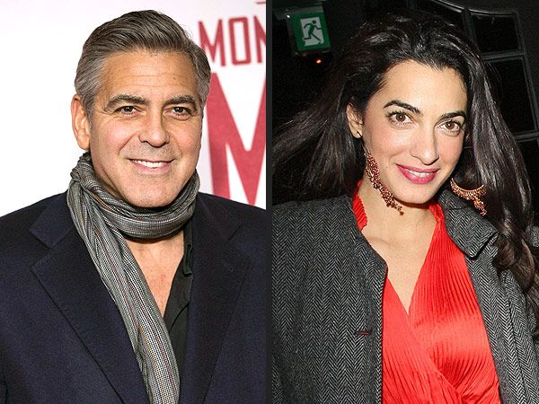George Clooney and Amal Alamuddin 'Stuck Like Glue' at White House Event: Source