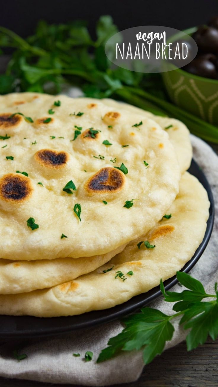Homemade Vegan Naan Bread Is Better Than Any Store Bought