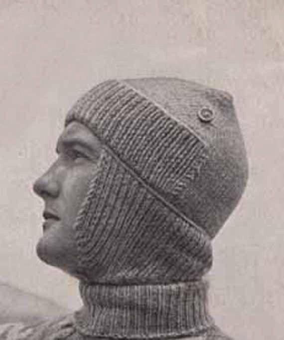 1940s VINTAGE KNITTING PATTERN Pdf Man s by GrannyTakesATrip  0cda3536c10