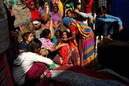 Fire Traps Workers in Delhi Factory Killing at Least 17