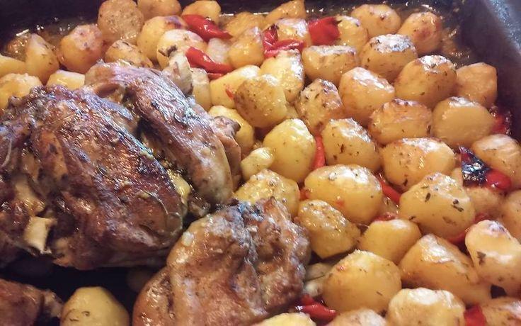 Αρνάκι με πατάτες στον φούρνο !! ~ ΜΑΓΕΙΡΙΚΗ ΚΑΙ ΣΥΝΤΑΓΕΣ