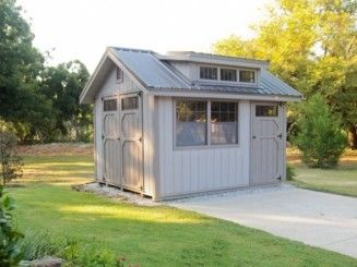 Cool shed idea, minus the window on the wall