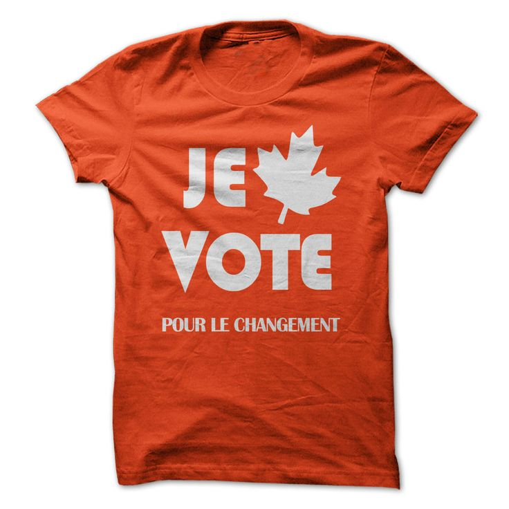View images & photos of Je vote pour le changement t-shirts & hoodies