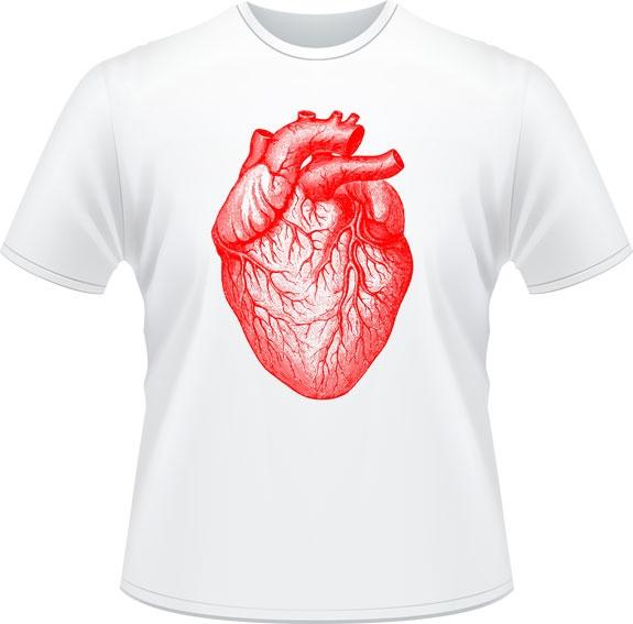 Le coeur - Don de Rouge, T-shirts pour la cause du 24h de Tremblant - 25$